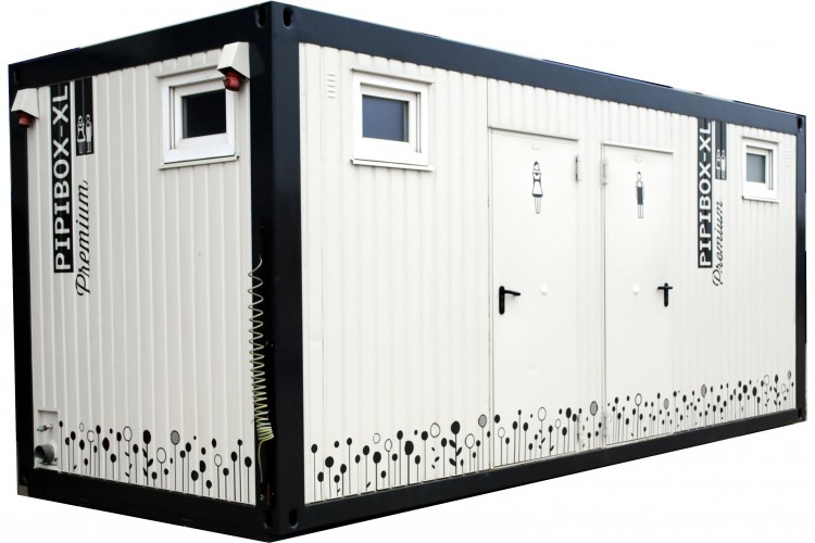 hochwertiger WC Container Pipibox XL Premium