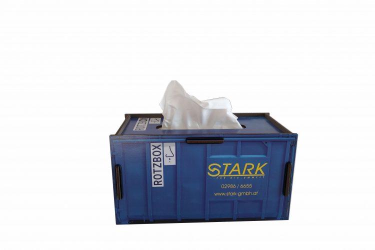 Taschentuchspender Rotzbox