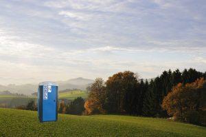 WC Kabine Oberösterreich
